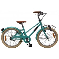 Volare Melody Kinderfiets - Meisjes - 20 inch - Turquoise - Twee Handremmen - Prime Collection