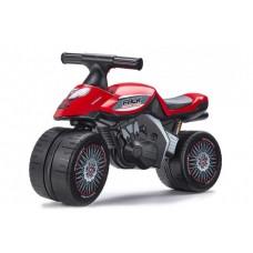 Falk Baby Racing Team Moto - Unisex - Rood - Loopfiets