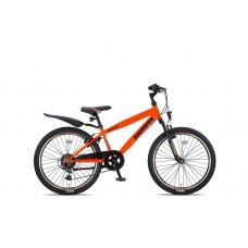 Altec Dakota 24inch Jongensfiets 7speed Neon Orange Nieuw