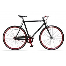 Altec Fixed Gear 28 inch Zwart/Rood 56cm