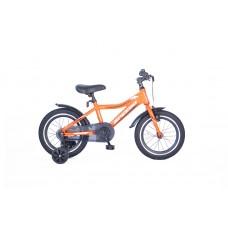 Altec Speedo 16 inch jongensfiets Alu frame mat Orange