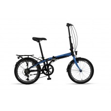 Altec Vouwfiets 20inch Black/Blue