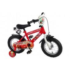 Disney Cars Kinderfiets - Jongens - 12 inch - Rood - 95% afgemonteerd