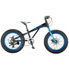 FAT Bike Allround 20inch 2D Zwart - Blauw