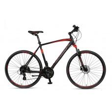 Mosso Legarda 19-24speed MSM HYDR Brake 56cm Zwart-Rood Nieuw