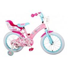 OJO Kinderfiets - Meisjes - 16 inch - Roze