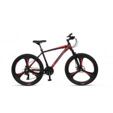 Umit Accrue 26inch MTB 2D Zwart-Rood