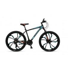 Umit Accrue 27.5 inch MTB Hydr.Brakes Black-Turquoise-Orange