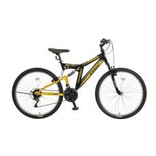 Umit Blackmount 26 inch MTB Black - Yellow