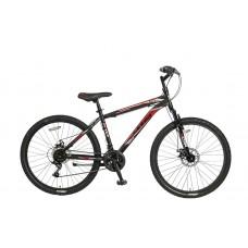 Umit Gigantus 26 inch MTB 2D Black/Red MATT