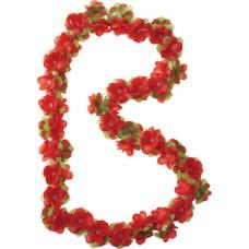Bloemenslinger Basil Flower Bloem rood