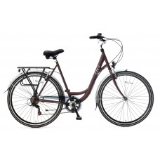 City 6 SPEED oak red 49cm