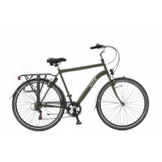 City 6 SPEED army green 49cm