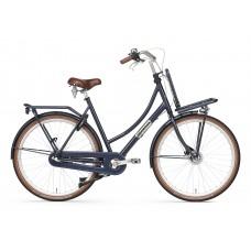 Daily Dutch Prestige N3  Donkerblauw rollerbrake 57cm