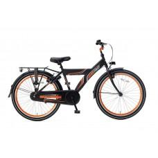 Popal Funjet X 24 inch Matzwart-Oranje