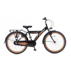 Popal Funjet 24 inch N3 Matzwart-Oranje