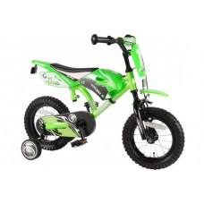 Volare Motobike 12 inch jongensfiets groen 95% afgemonteerd