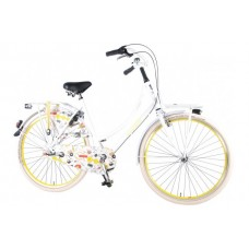 SALUTONI Urban Transportfiets Cartoon 28 inch 50 cm Shimano Nexus 3-speed 95% afgemonteerd