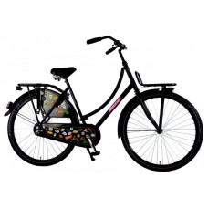SALUTONI Urban Transport fiets Badges 28 inch 50 cm 95% afgemonteerd