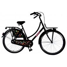 SALUTONI Urban Transport fiets Badges 28 inch 56 cm Shimano Nexus 3-speed 95% afgemonteerd
