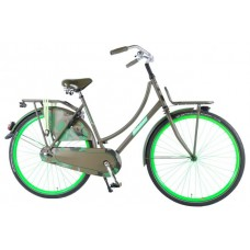 SALUTONI Urban Transport fiets Camouflage 28 inch 50 cm 95% afgemonteerd