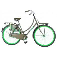 SALUTONI Urban Transport fiets Camouflage 28 inch 56 cm 95% afgemonteerd