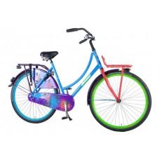 SALUTONI Urban Transport fiets Graffiti 28 inch 50 cm 95% afgemonteerd