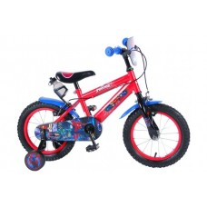 Ultimate Spider-Man 14 inch jongensfiets 2 handremmen