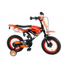 Volare Motorbike 12 inch jongensfiets 95% afgemonteerd